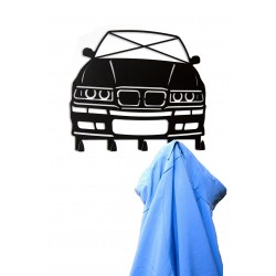 Wieszak na kurtki BMW E36 ekstra prezent drift