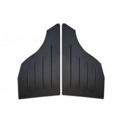 Tapicerka drzwi boczki panele BMW E46 coupe tył